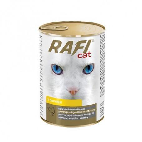 Dolina Noteci Rafi Cat mokra karma dla kota z drobiem 415g