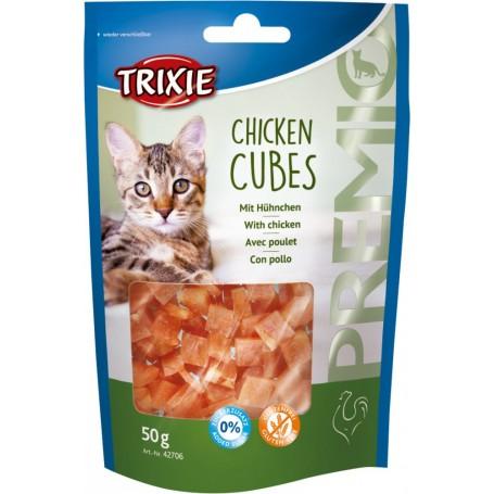 Trixie - Przysmak dla kota PREMIO Chicken Cubes snacki z kurczaka 50g