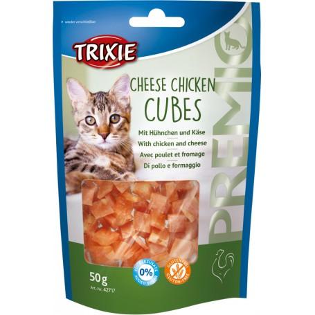 Trixie - Przysmak dla kota PREMIO Cheese Chicken Cubes snacki kurczak z serem 50g