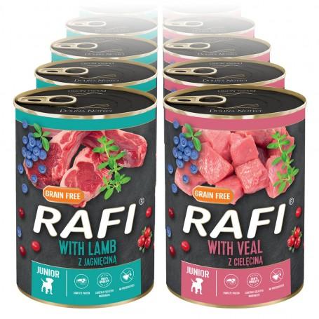 Dolina Noteci Rafi Junior mix smaków 24x400 g