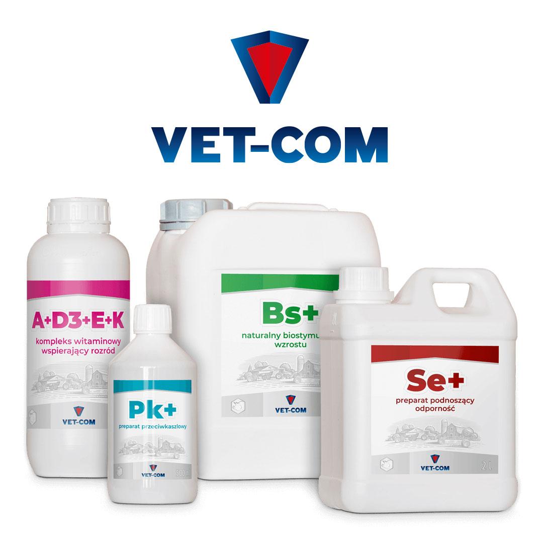 Suplementy dla trzody chlewnej Vet-Com