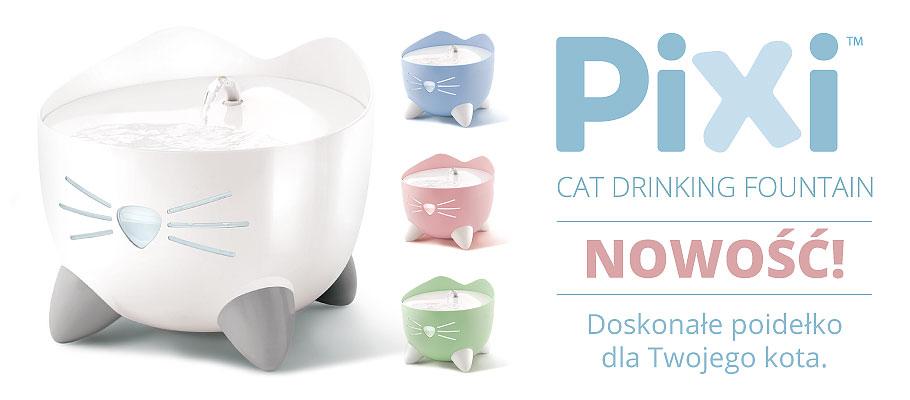 Catit Pixi Fountain - poidełko fontanna dla kota